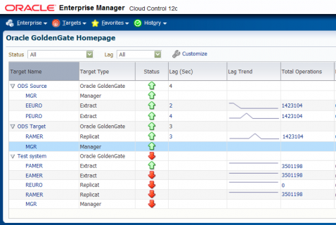 Мониторинг GoldenGate с помощью Oracle Enterprise Manager ...